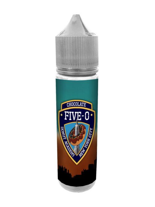 e-liquid bottle: Five-O Chocolate Donut 60ml Shortfill
