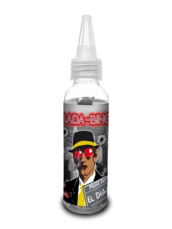 e-liquid bottle: Bada-Bing El Diablo 60ml