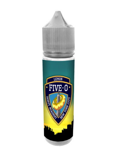 e-liquid bottle: Five-O Lemon Donut 60ml Shortfill