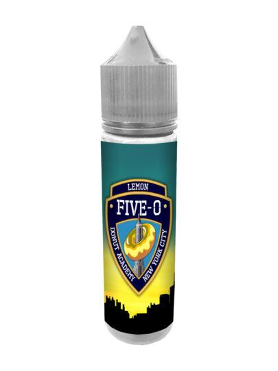 e-liquid bottle: Five-O Lemon Donut 60ml Shortfill