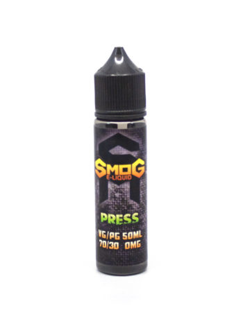 e-liquid bottle: Smog e-liquid PRESS 60ml shortfill